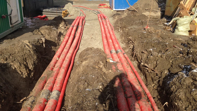 Вес одного метра кабеля